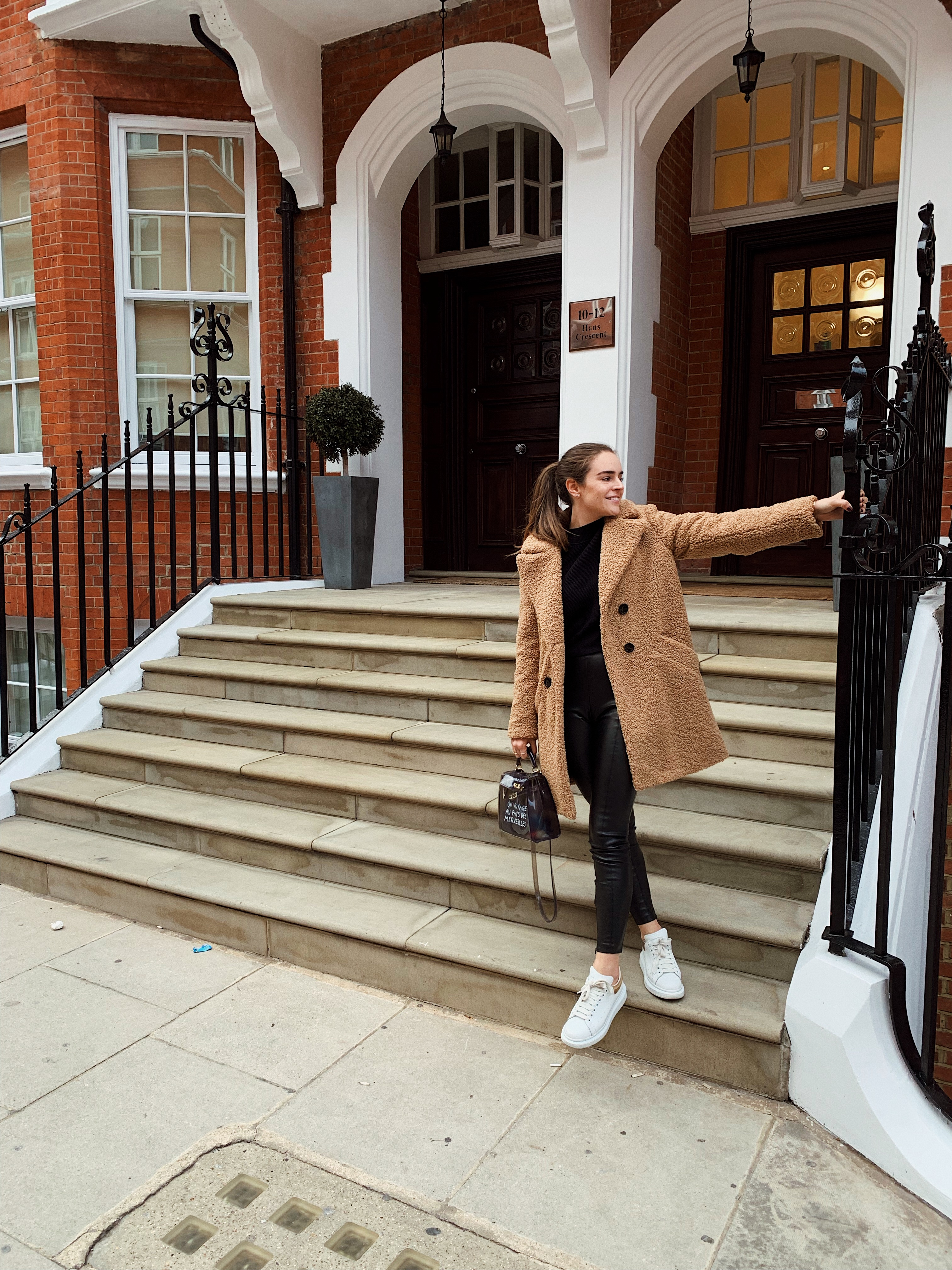 London Teddy Coat | Carolina Arango