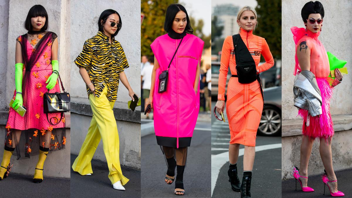 Neon 2019 Fashion Trend Carolina Arango