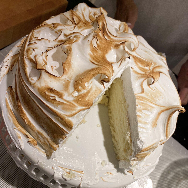 Cipriani Meringue Cake
