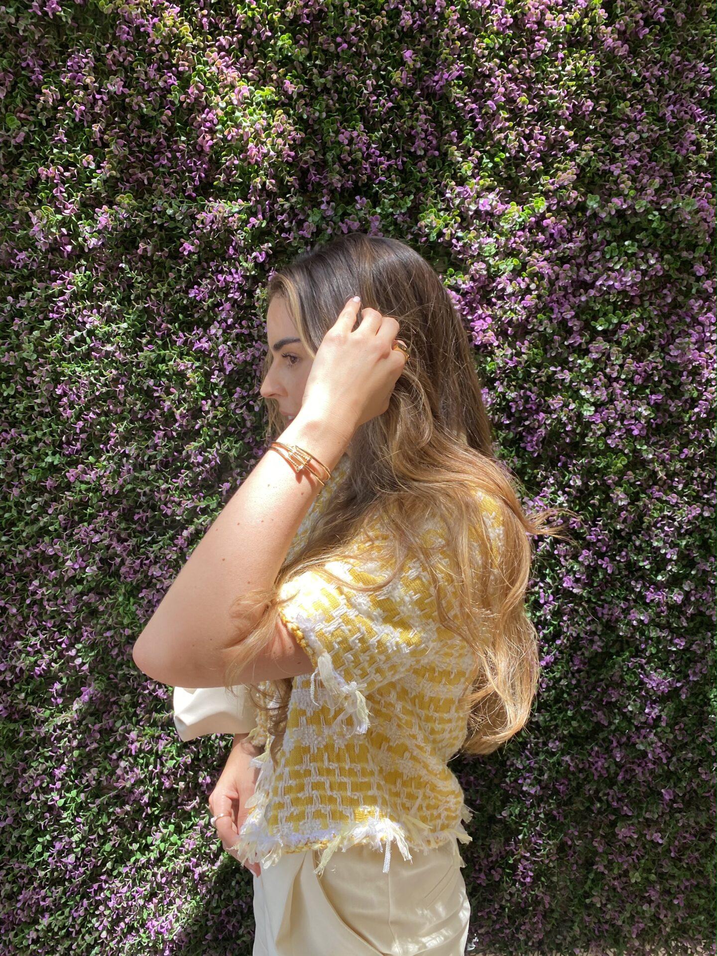 Carolina Arango tweed